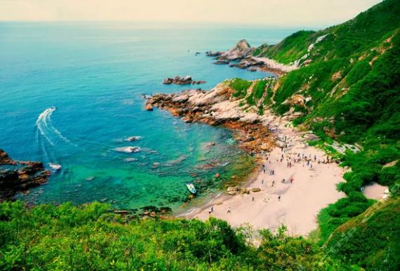 穿越东西冲、观沧海、赏惊涛拍岸、徙步最美海岸线一日游