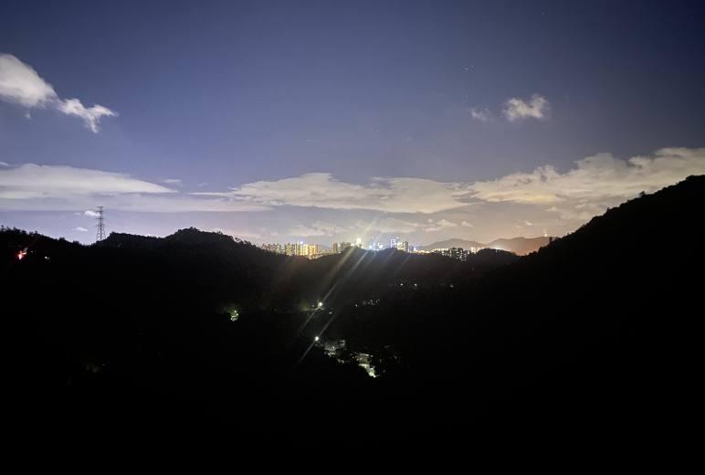 【每周三夜徒】龙华夜徒 阳台山绿道8公里