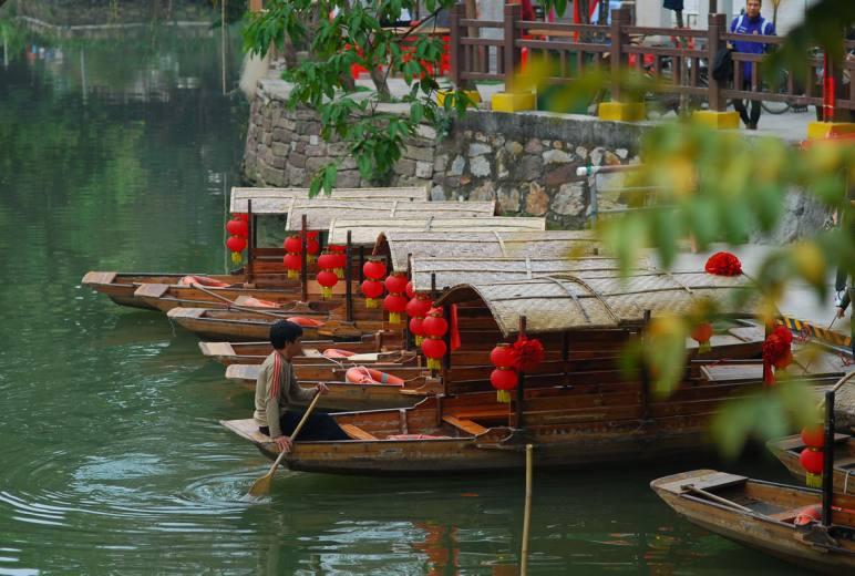 【顺德1日游】佛山顺德逢简水乡小周庄、游船、清晖园、摄影美食之旅